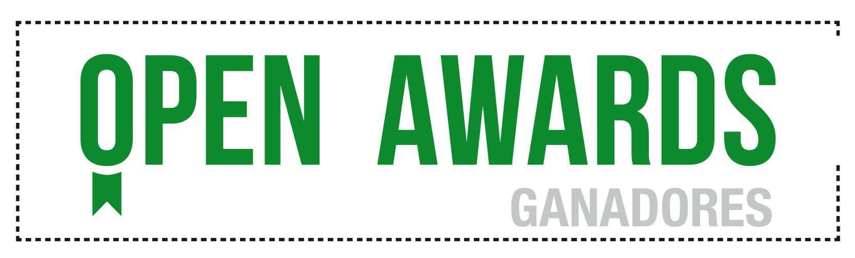 Ganadores Open Awards 2016