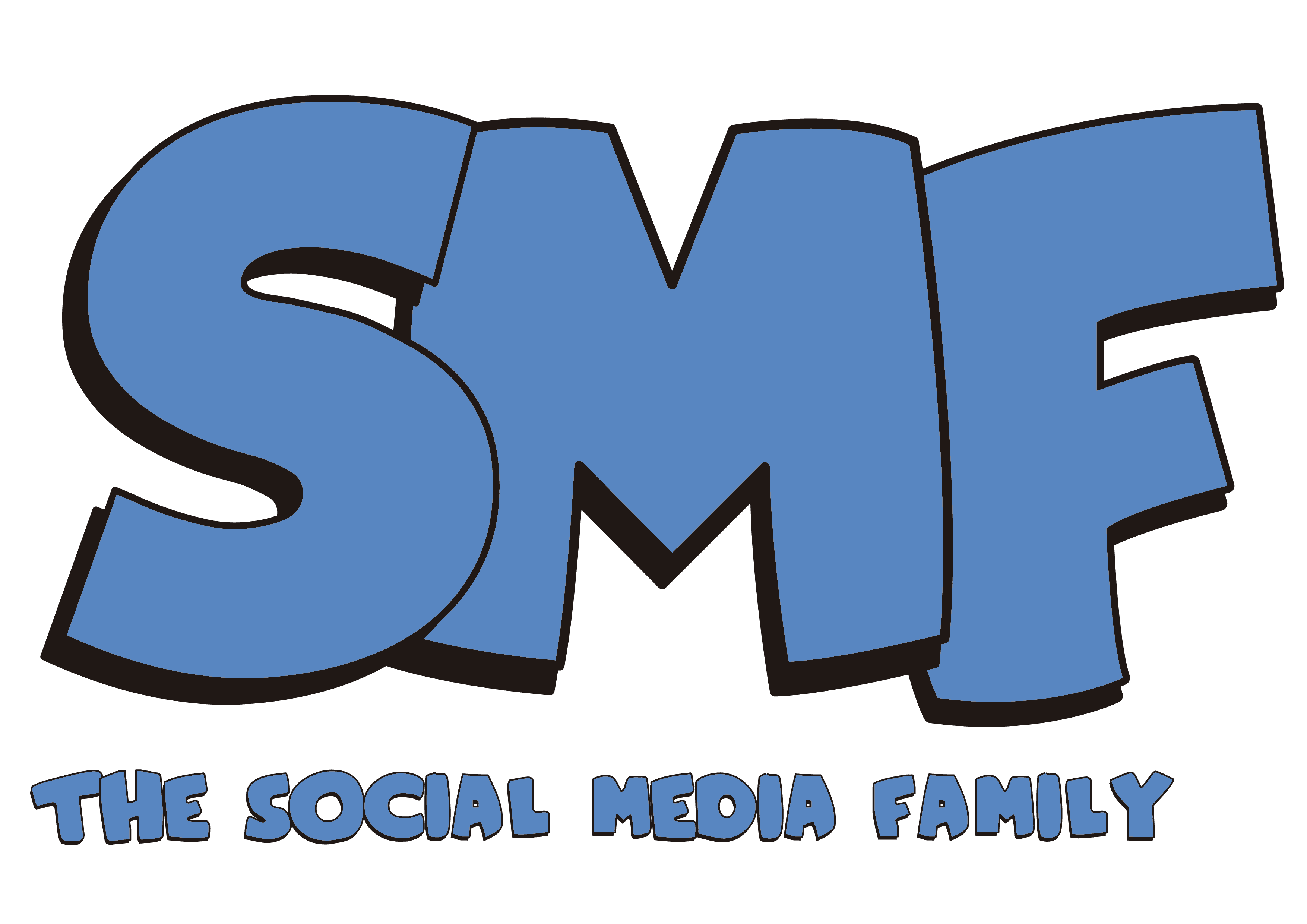 the social media family logo