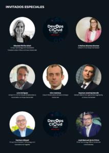 Ponentes del evento - DevOps Cloud Days Santander